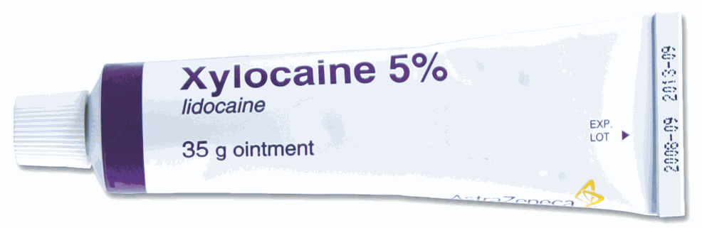 lidocaine is found in