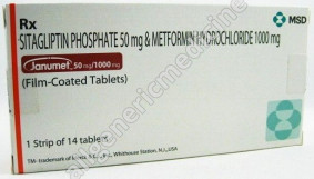Substitute for Janumet 50+500mg