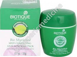 Myristica Pack (Acne and Pimple Treatment)25gm