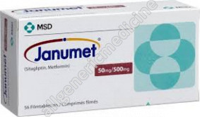Substitute for Janumet 50+1000mg