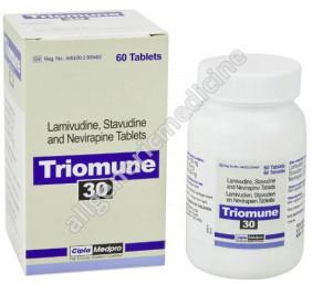 Substitute for Triomune 40+150+200mg