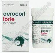 Substitute for Aerocort Forte Rotacaps 200/100mcg