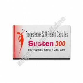 Substitute for Susten 100Mg