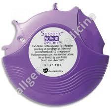 Substitute for Seroflo Inhaler 25mcg+125mcg