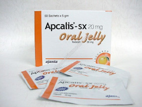 Apcalis Oral Jelly 20mg .Tadalafil is not for consumption in United States