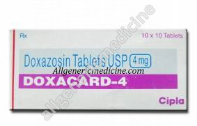 Substitute for Doxacard 1mg
