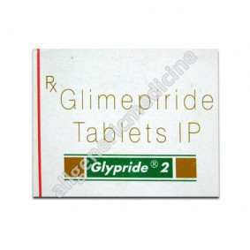 Substitute for Glypride 1mg