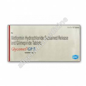 Substitute for Glycomet GP(500+1)mg