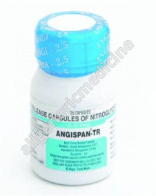 Substitute for Angispan TR 6.5mg