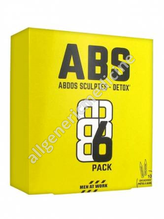 ABS DETOX  Box of 10 unicadoses of 15 ml