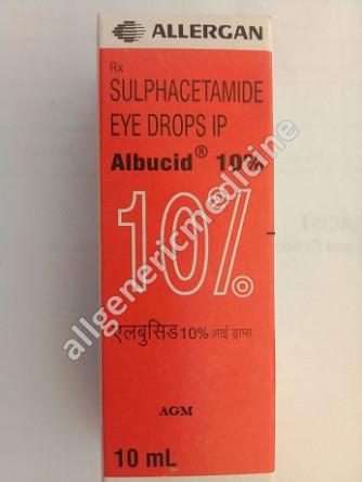 Albucid 10% Eye Drop