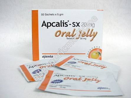 Apcalis oral Jelly-20mg