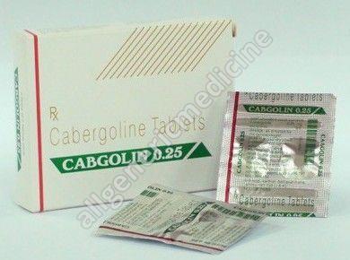 Cabgolin 0.25 mg high