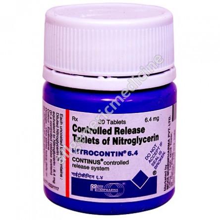Nitrocontin 6.4mg