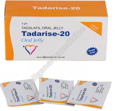 TADARISE-20 MG ORAL JELLY